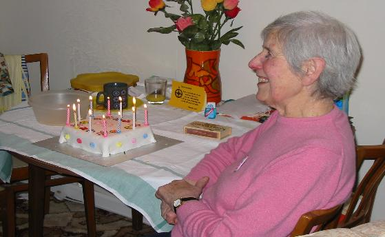 Daisy's 80th Birthday
