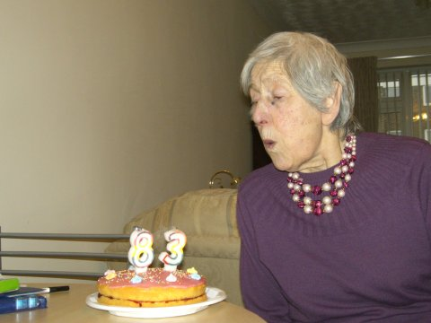 Daisy's 83rd Birthday
