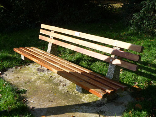 Daisy's Memorial Bench