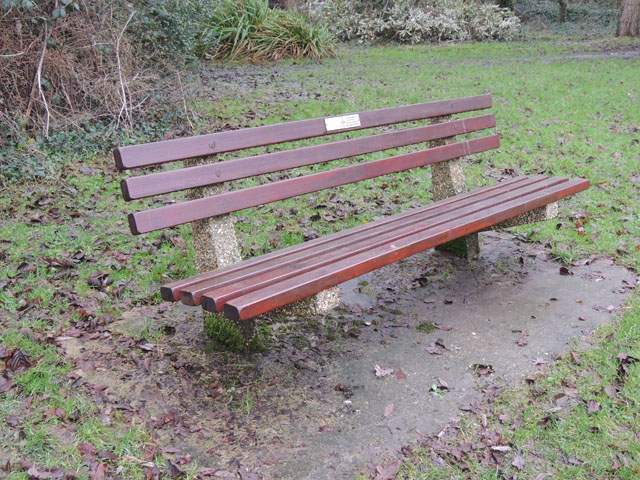 Fred's Memorial Bench